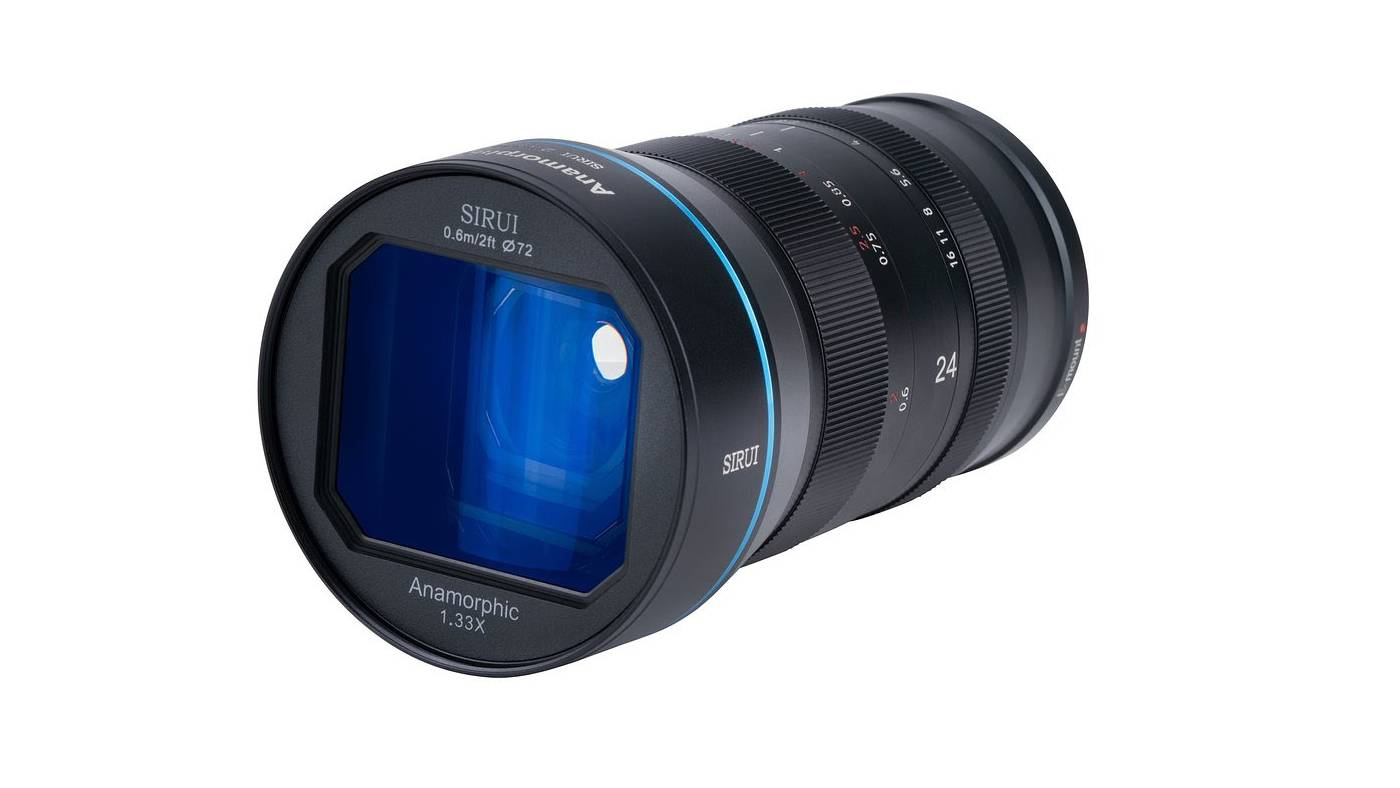SIRUI 24mm F2.8 1.33x anamorphic lens