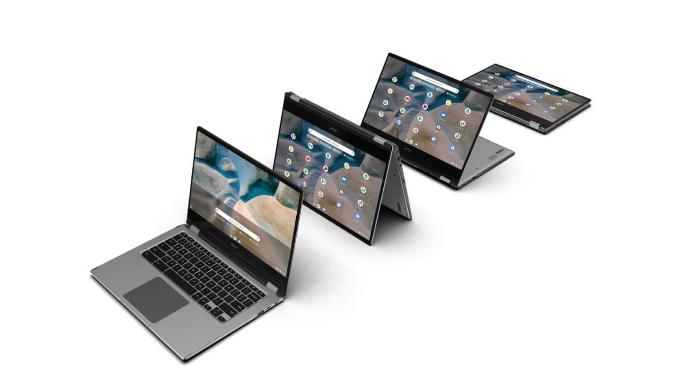Acer Spin 514 folded