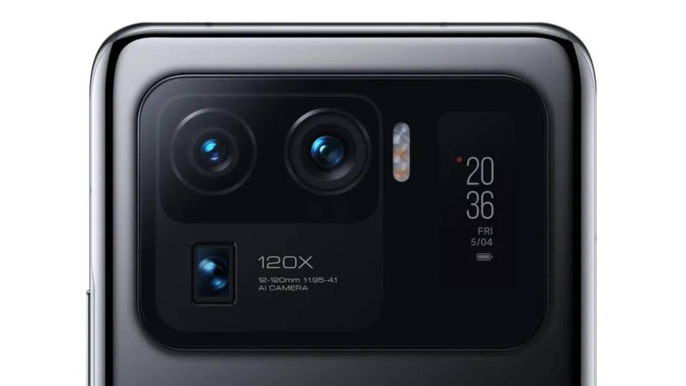Xiaomi's Mi 11 Ultra cameras