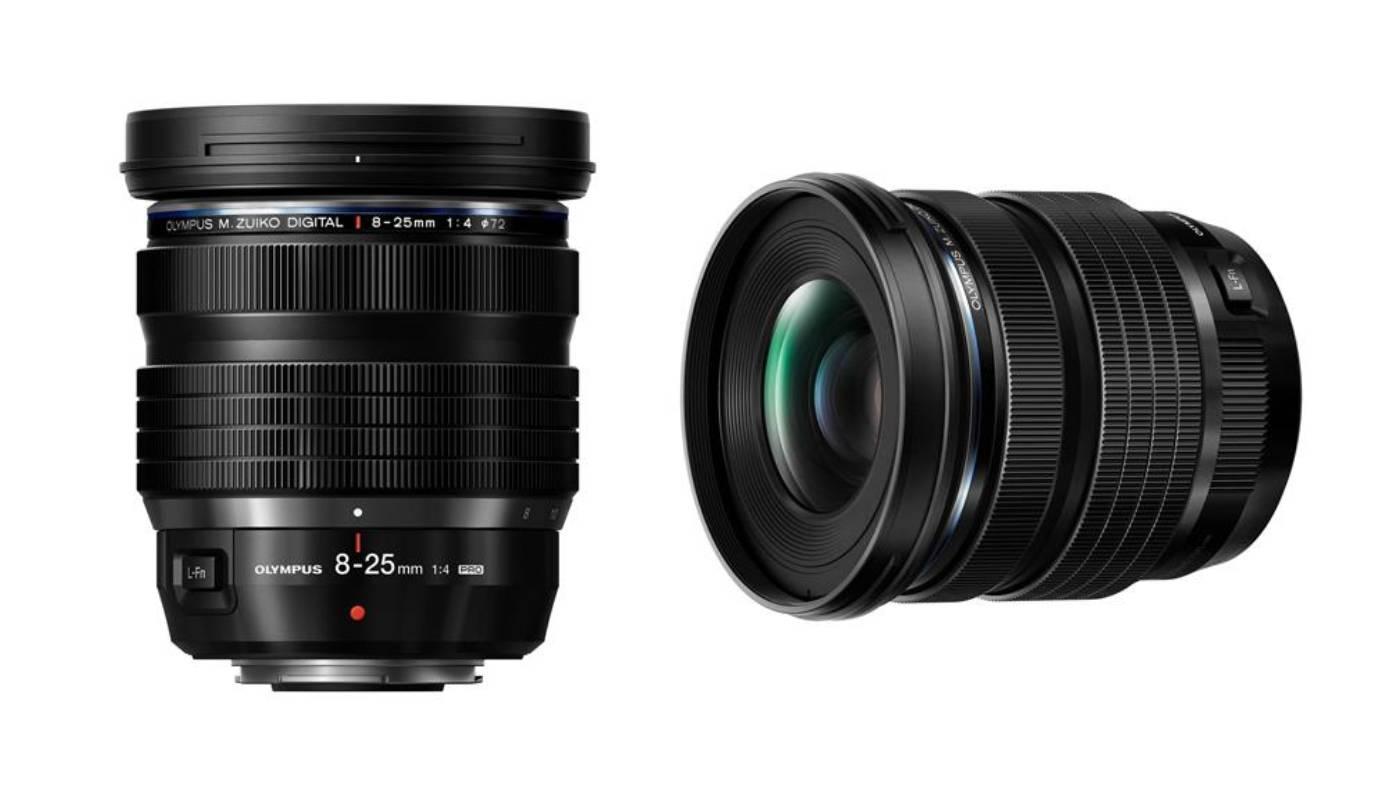 Olympus M.Zuiko 8-25mm f/4 Pro lens