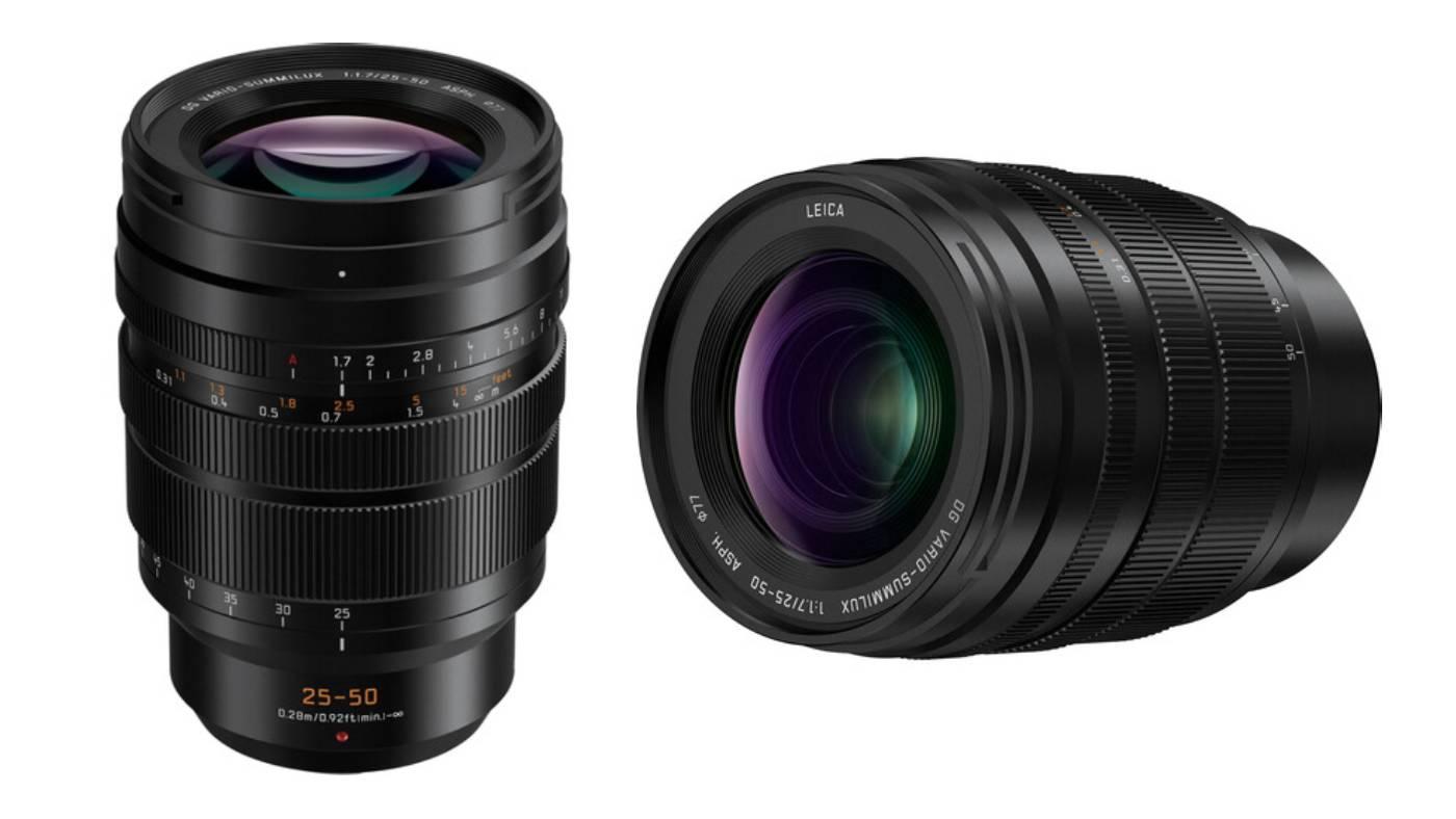 Panasonic Leica DG Vario-Summilux 25-50mm f/1.7 ASPH lens