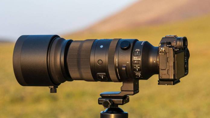 Sigma announces the 150-600mm Sports Mirrorless Zoom lens