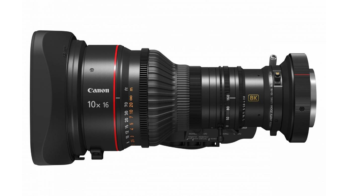 Canon 10×16 KAS S zoom broadcast lens