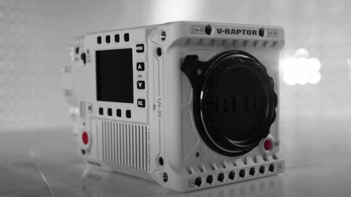 RED V-Raptor 8K VV camera