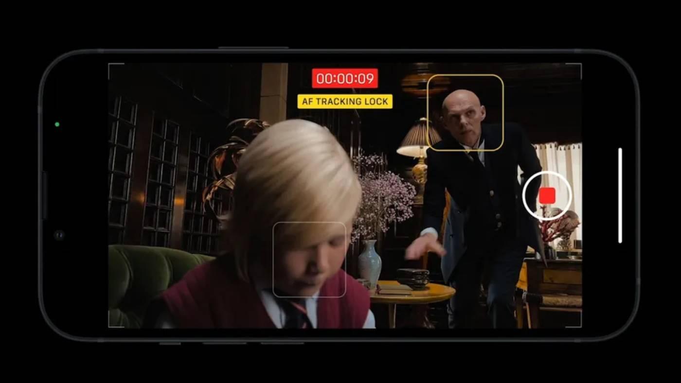 Apple iPhone 13 Pro cinematic mode