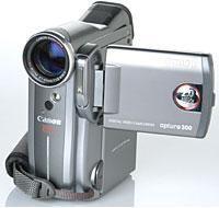 Camcorder Review: Canon Optura 300 Mini DV
