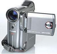 Test Bench:Canon Optura 300 Mini DV Camcorder
