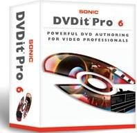 Sonic Solutions DVDit Pro 6 DVD Authoring Software Review