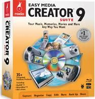 Roxio Easy Media Creator 9 Suite Editing, Burning, Authoring Software Review