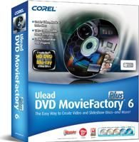 Corel Ulead DVD MovieFactory 6 Plus Disc Authoring Software Review