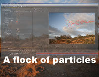 Adobe After Effects Tutorial: A Flock of Particles