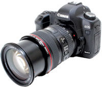 Videomaker's 2009 Best DSLR That Takes Video: Canon EOS 5D Mark II