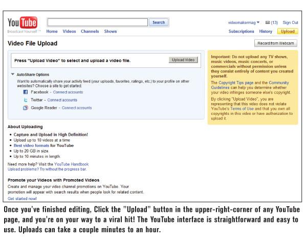 Formatting for YouTube - Videomaker