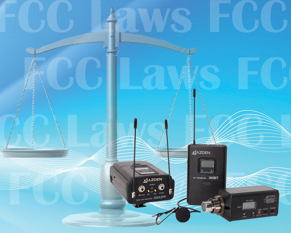 FCC Laws and Wireless Mics