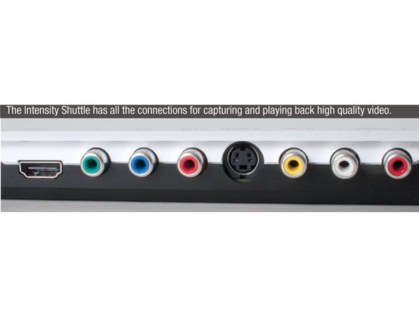 Blackmagic Design Intensity Shuttle Video Interface Review - Videomaker