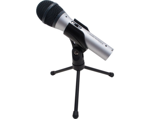 Audio-Technica ATR2100-USB Handheld Microphone Reviewed