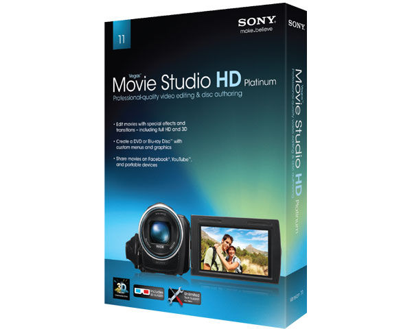 sony creative software vegas movie studio hd 11.0 free download