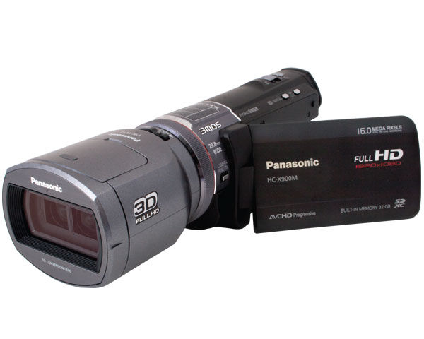 Panasonic HC-X900M Camcorder and 3D Conversion Lens   Review