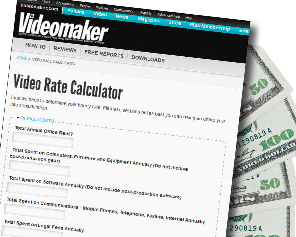 Videomaker-Video-Rate-Calculator