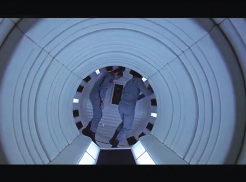"""Single frame from the movie """"2001: A Space Odyssey"""""""