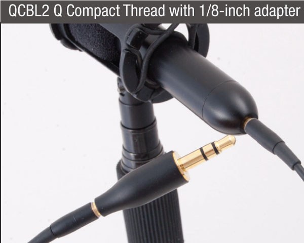 que-audio-q-sniper-kit-compact-thread-adapater