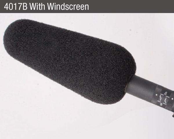 DPA-microphones-4017B-shotgun-microphone-windsock