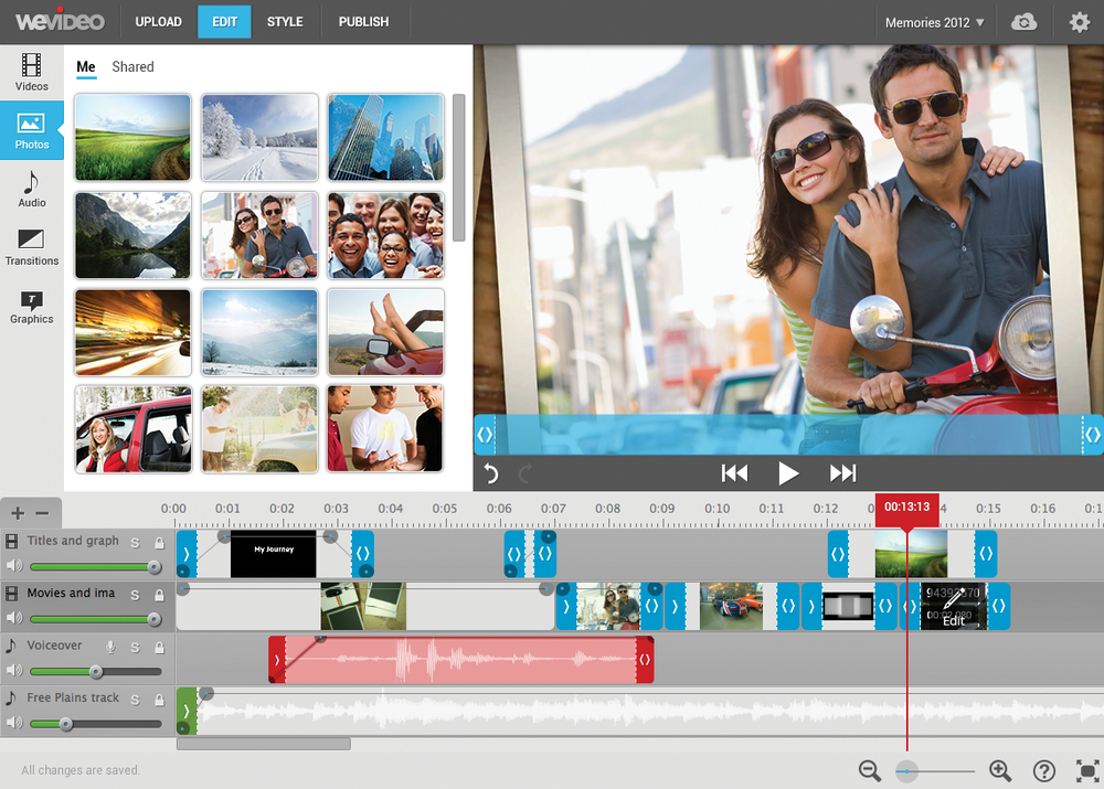 WeVideo Internet Editing Software - Videomaker