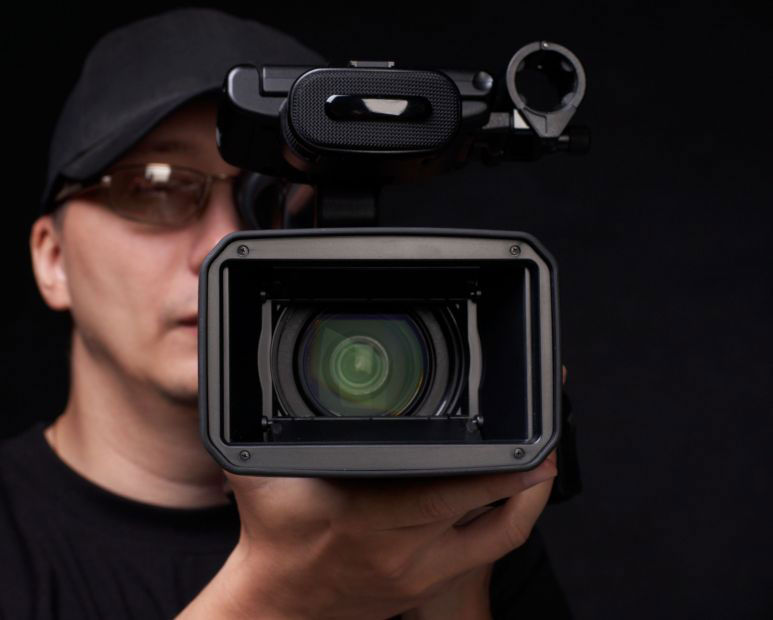 Image result for movie camera lens facing forward