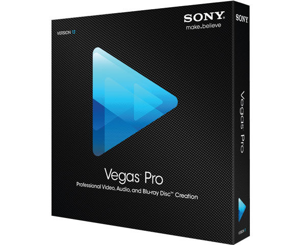Sony Vegas 12 software product box