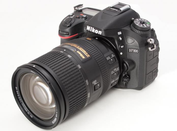 Shot of the Nikon D7100 DSLR