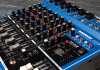 Photo of Samson mixing board
