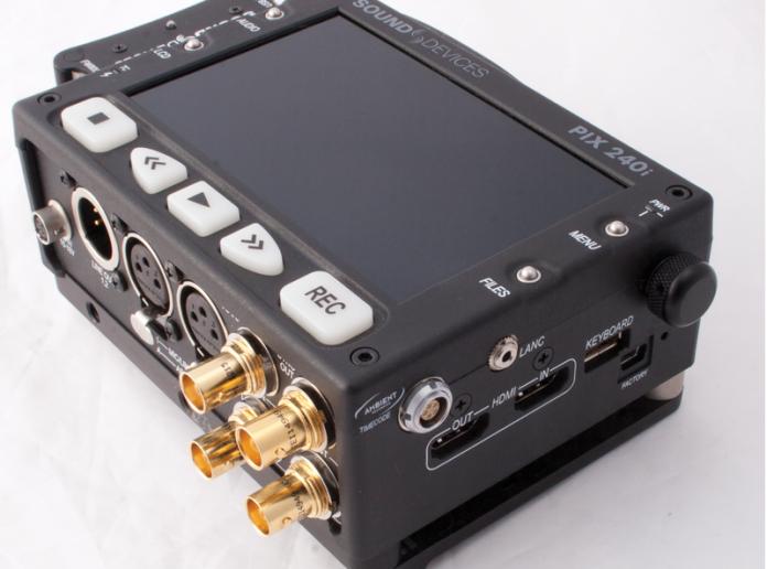 Photo of Sound Devices' PIX 240i