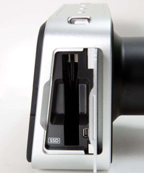 Blackmagic Production Camera 4K SSD slot