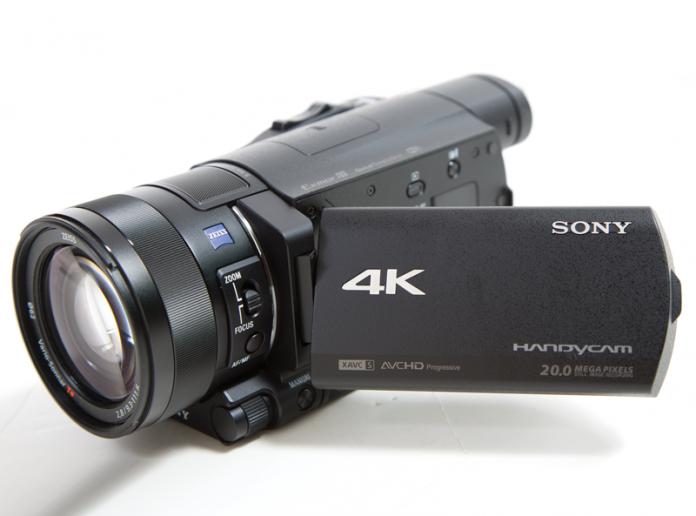 Sony FDR-AX100 Handycam Camcorder