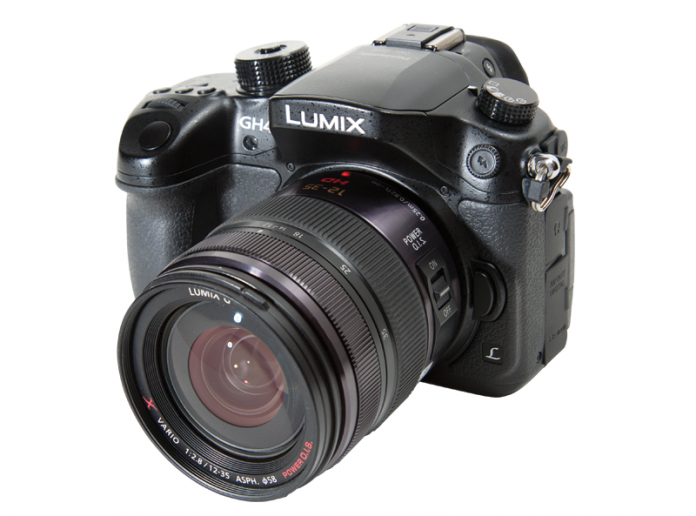Photo of the Panasonic LUMIX DMC-GH4 MILC