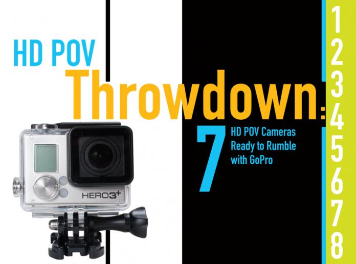 HD POV Throwdown: 8 HD POV Cameras Ready to Rumble with GoPro