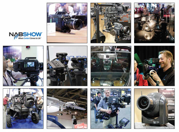 Montage of images from NAB 2014