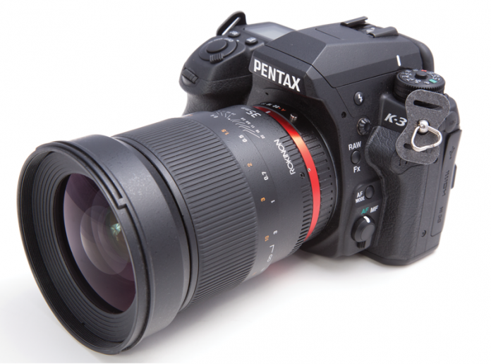 Photo of the Pentax Ricoh K-3 DSLR