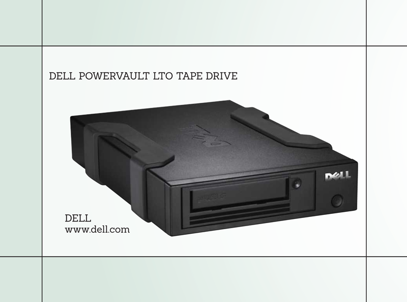 Photo of Dell PowerVault LTO tape drive