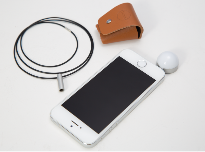 The Lumu turns your iPhone into a light meter.