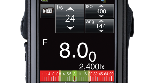 Light meters recommend exposure settings based on user-selected priorities and the light data collected.