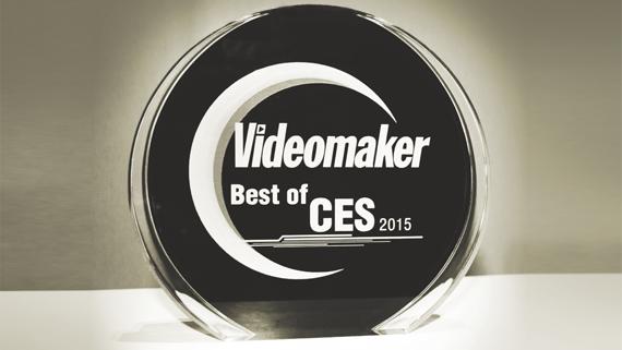 Photo of Videomaker's 2015 Best of CES Award