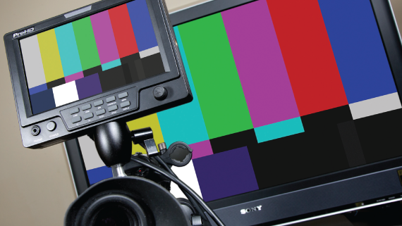Using Color Bars to Calibrate a Monitor - Videomaker