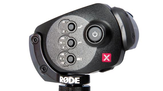 RØDE Stereo VideoMic X controls