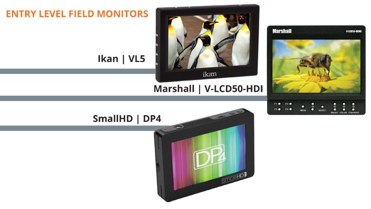 Entry Level Field Monitors
