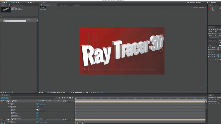 3D/Raytracing in After Effects - Videomaker