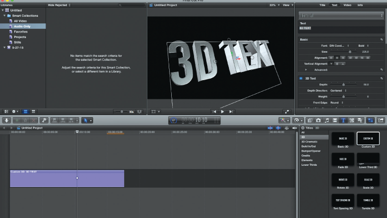 Final Cut Pro X 10 2 Editing Software Review - Videomaker