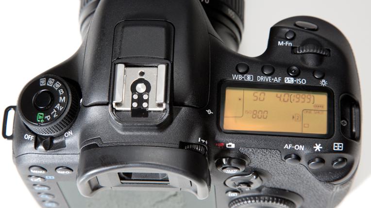 Canon EOS 7D Mark II Mode dial