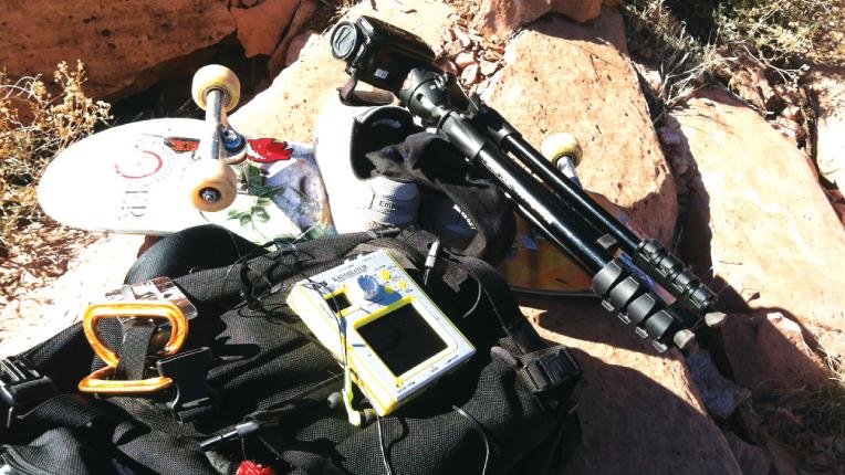 Willow Jon's equipment.
