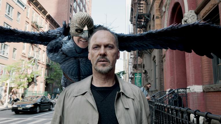 Scene from Birdman.
